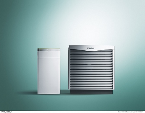 Тепловой насос Vaillant flexoTHERM exclusive VWF